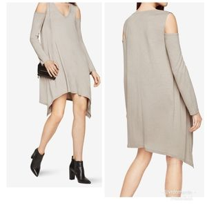 Cold Shoulder Sharkbite Dress Kirby BCBGMAXAZRIA